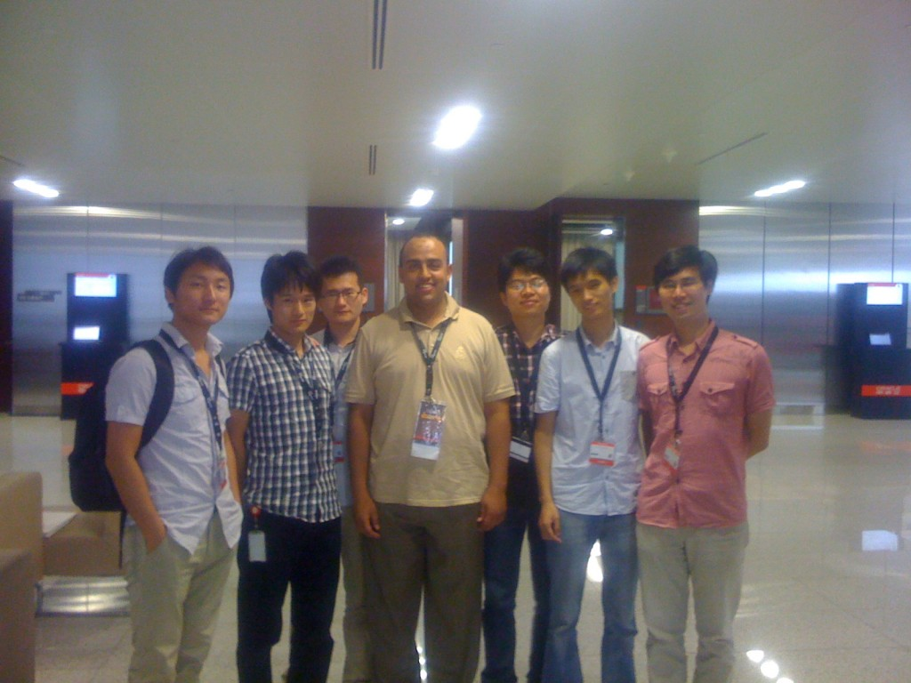Photo with Chinese Developers